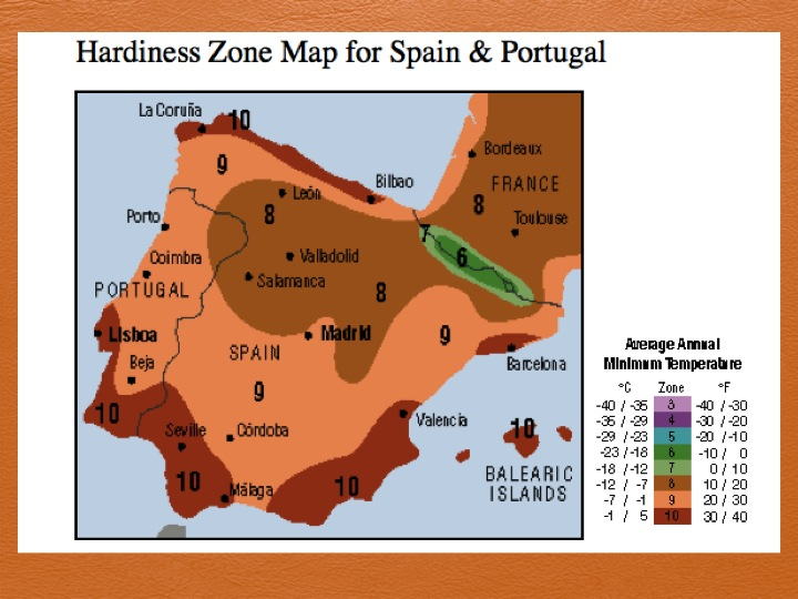Climate Analog And Map Resources A Permaculture Design Course - Portugal rainfall map