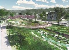 Lick Run, a stream augmentation in the millions on the MIll Creek in Cincinnati