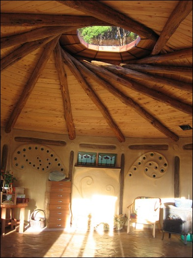Reciprocal Roof Roundhouse A Permaculture Design Course