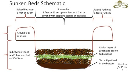 sunken beds schematic